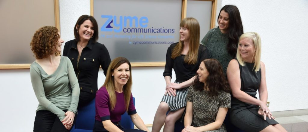 Zyme communications team photo