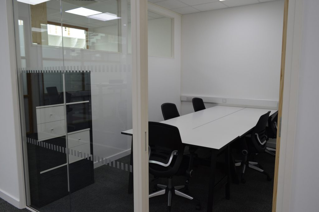 Example 4-6 person office at IncubyteSpace, Waterbeach