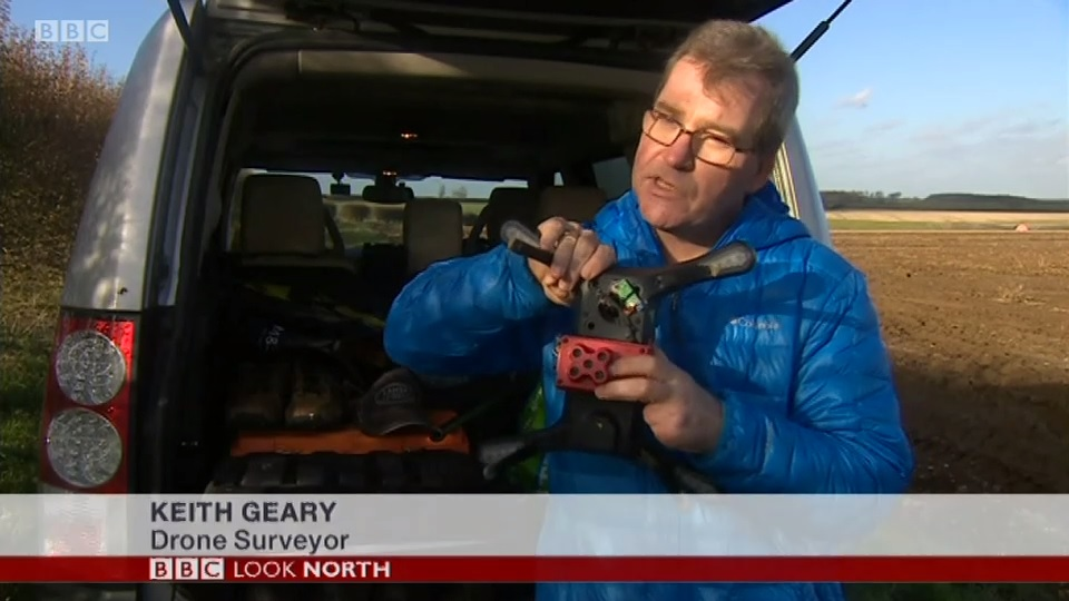 Keith Geary on BBC Look North