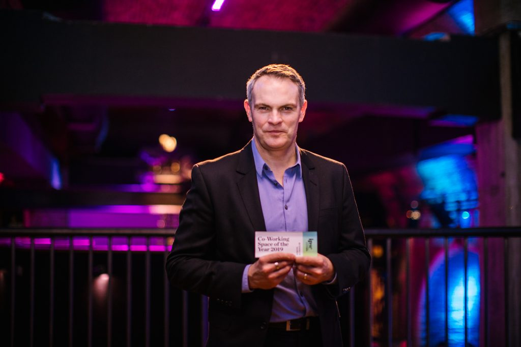 Rob Precious, Incubyte Founder at Ipse awards ceremony in London | 2019